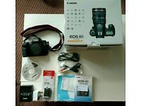 Canon EOS 6D - Full Frame DSLR Camera + Extra Spare Battery - (Body only) - [Boxed]
