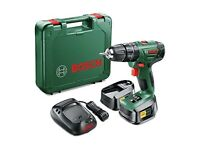 PSB 1800 LI-2 Bosch Cordless Combi Drill With: Two 18 V Lithium-Ion Batteries. Three Years Warranty!