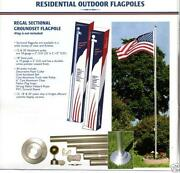 Outdoor Flag Pole