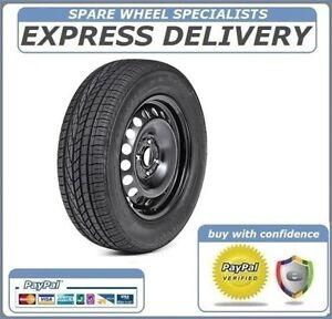 nissan note 2013 2016 15 full size steel spare wheel tyre 185 65r15 ebay. Black Bedroom Furniture Sets. Home Design Ideas