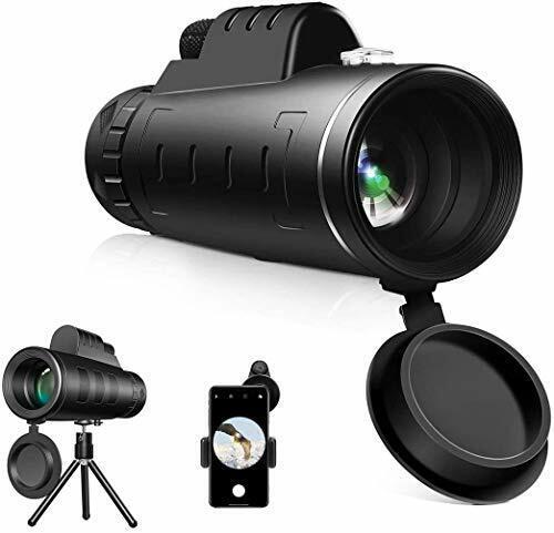 HD Monocular Starscope Phone Camera Zoom Lense+Tripod Bag Phone Mount Telescope