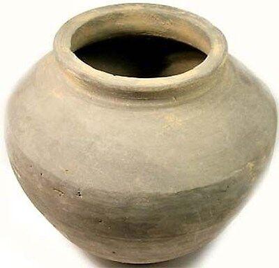 200BC Superb Ancient China Han Dynasty Earthenware Clay Large Jar