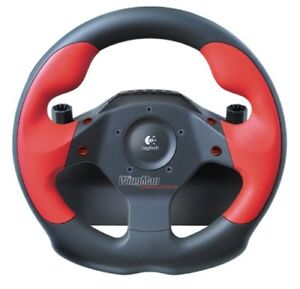 Logitech WingMan Formula Force GP Steering Wheel with Pedals