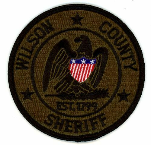 WILSON COUNTY SHERIFF TENNESSEE TN NEW SUBDUED SWAT PATCH POLICE