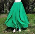 Handmade Chiffon Maxi Skirts for Women