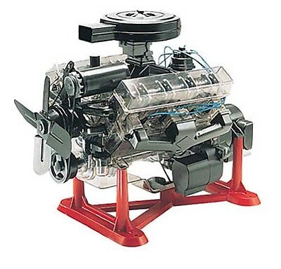 Revell Inc [RMX] 1:4 Visible V-8 Engine Plastic Model Kit 85-8883 RMX858883