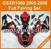 06 GSXR 1000 Fairings