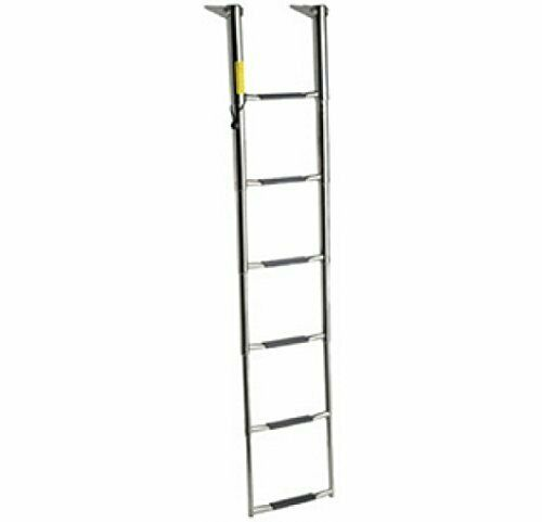 Garelick 19686:01 Ladder Telescoping 6 Step Wide