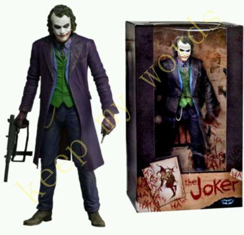 "NECA DC Comics Joker Batman Dark Knight COLLECTIBLE Action PVC Figure 7"" Doll"