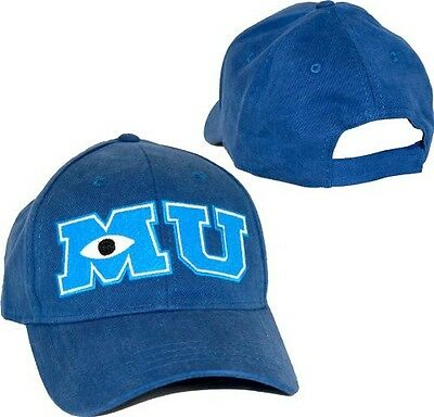 Child Youth Adjustable Movie Disney Pixar Monsters University MU Costume Cap Hat](Monster University Costumes)