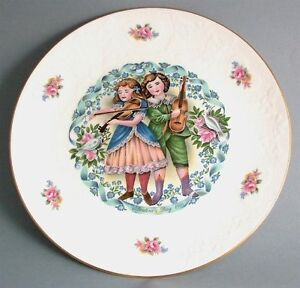Royal Doulton My Valentine collector plate valentines day 1981