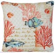 Coral Cushion