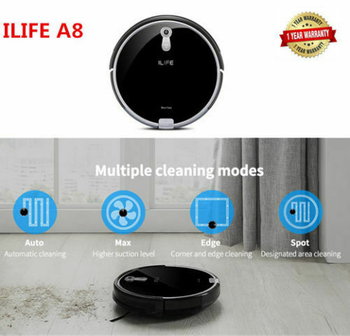 A8 Robotic Vacuum Cleaner Camera Panoview Navigated Voice As