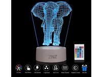 3D LED Lamp Night Light
