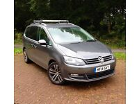 VW Sharan SEL 177 DSG BEST SPECIFICATION AVAILABLE - OVER £6500 OF EXTRAS - GROSS VAT QUALIFYING
