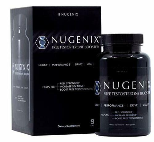 NUGENIX FREE TOTAL TESTOSTERONE BOOSTER Enhance Energy Muscle (90 Capsules)