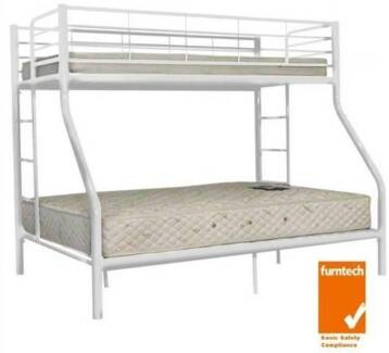 Trio Double Single Bunk Bed 320 Pickup 380 With Delivery