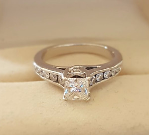 PAST PRESENT FUTURE ENGAGEMENT RING