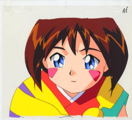 Anime Cel Tenchi #258