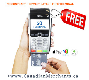 Free Wireless Credit Card Terminal for businesses