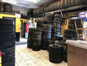 LOTS OF USED WINTER TIRES
