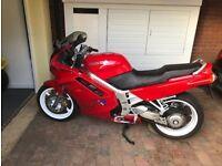 Honda VFR 750FL, Red, 1990, Very good condition, 38k miles, £2250.00 ONO