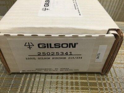 Gilson 100ul Syringe Hplc Pump Syringe. New