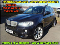 2008 BMW X5 3.0sd Auto M Sport - 9 Service Stamps - KMT Cars