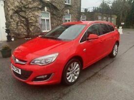 2014 Vauxhall Astra ASTRA ELITE CDTI ECOFLEX S/S == 20 Road Tax == Full Black Le