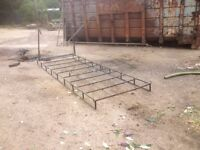 ROOF RACK FOR LADDER WITH ROLLERS