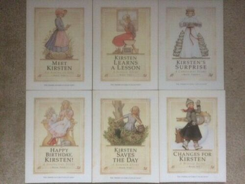Kirsten an American Girl complete series 1-6 set 1 2 3 4 5 6 paperback PB lot