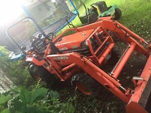 Tracteur Kubota b2910 4x4