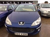 2005 Peugeot 407, 1.6 diesel, for parts only, all parts available