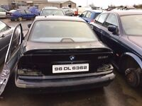 1996 BMW 316, 1.6 petrol, for parts only, all parts available