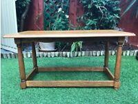 Coffee table (Solid Oak)