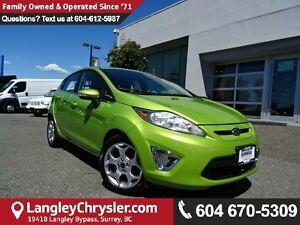 2011 Ford Fiesta SES w/LEATHER  INTERIOR & SUNROOF