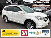 2010 Honda CR-V 2.0 i-VTEC EX Station Wagon 5dr Petrol white Automatic