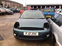 2003 Ford fiesta zetec, 1.4 petrol, for parts only, all parts available