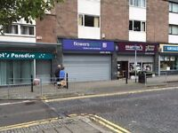 FOR LET - SHOP / STORAGE - PORT GLASGOW TOWN CENTRE - PRINCES STREET - 800 SQ FT