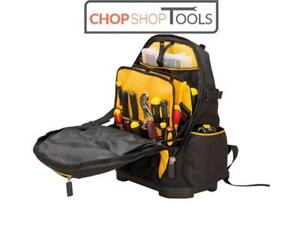 Stanley Fatmax Tool Backpack Box Bag Plumbers Electricians Rucksack 1-95-611