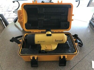 Topcon At-g2 Automatic Level With Case And Strap