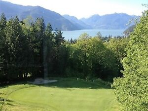 Executive home on golf course with views of Howe Sound - JULY