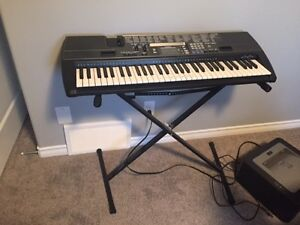 Casio CTK 720 Keyboard and stand/pedal