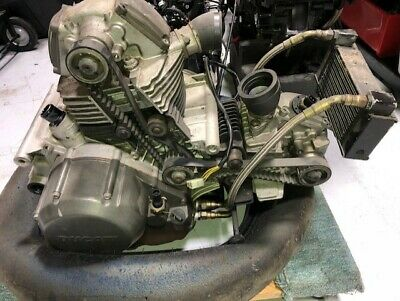 DUCATI SUPERSPORT 750 ENGINE MOTOR with BIG BORE KIT 803 BIG VALVES CARRILLO ROD
