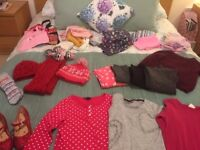 Selection of girls clothes age 9-10