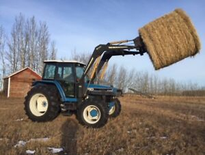 New Holland 7740 Front Wheel Assist Loader Tractor, Mint