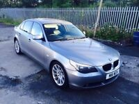 BMW 5 Series Cheapest in UK 525 Diesel Automatic Full Leather Bargain