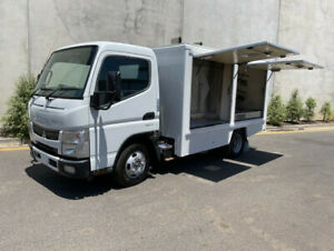 2012 Mitsubishi Fuso Canter Food Van  -72,875 kms  -Turbo diesel engine  -Auto trans  -Power wi Bell Park Geelong City Preview