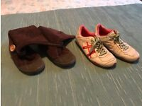 Rocket dog boots, Diesel trainers
