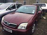 2002 Vauxhall vectra, 2.0 diesel, for parts only, all parts available